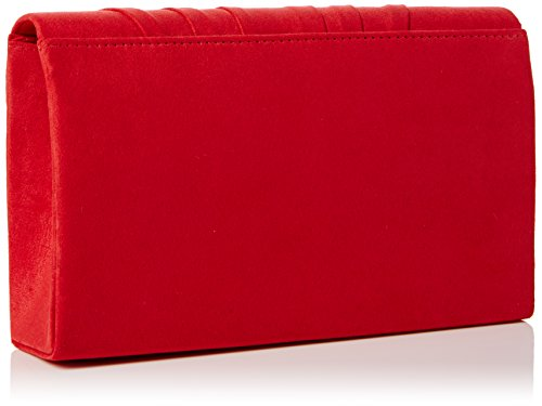 Red Women's Bag Clutch Clutch Iggy Prom Envelope SwankySwans Suede Red Party Velvet TUxqAq