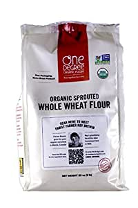 Amazon.com : One Degree Organic Foods Sprouted Whole Wheat