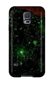 Durable Protector Case Cover With Borg Cube Hot Design For Galaxy S5