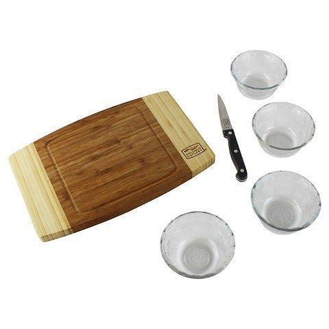 Pyrex and Chicago Cutlery 1122588 Pyrex and Chicago Cutlery Prep Set (6 Piece)