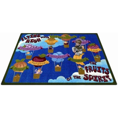 Faith Based Fruits of the Spirit Kids Rug Size: 5'4'' x 7'8'' by Joy Carpets