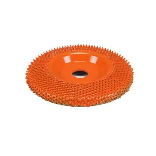 4'' Disc Wheel Flat Face (Ex-Coarse Grit) 5/8'' Bore