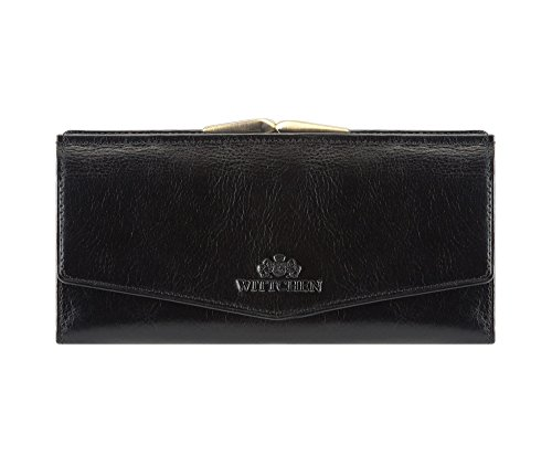 Italy Cm 1 1 079 Billetera 21 X Wittchen 18 Material Colección Cuero Negro Grano De Color 9 5 Tamaño 6UwqY