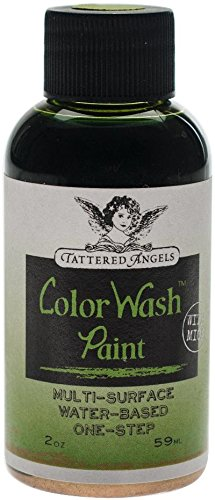 Canvas Corp Tattered Angels Color Wash Paint 2oz-Verdigris - Faux - Spray Faux Finish