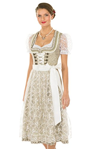 Krüger Dirndl Mididirndl 2pcs. Krüger Dirndl Mididirndl 2pcs. 70 Cm 15727-15 White 70 Cm 15727-15 Blanc
