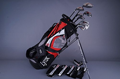(Lynx Black Cat Mens Complete Golf Club Set - Left Handed)