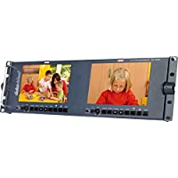 "Datavideo TLM-702HD | 2x7"" HD SD TFT LCD Monitor"