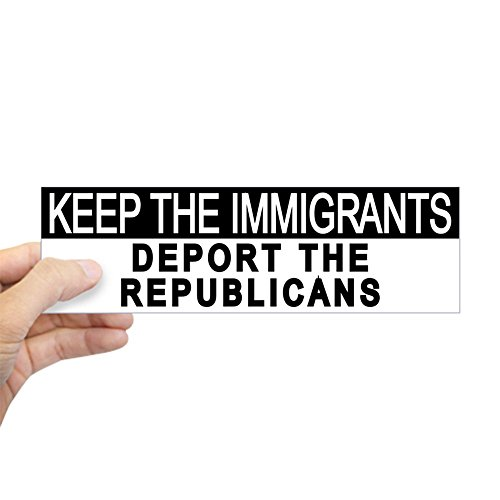 Anti Republican Stickers - CafePress Deport The Republicans Bumper Sticker 10