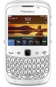 BlackBerry Curve 3G 9300 White WiFi Unlocked QuadBand Cell Phone ()