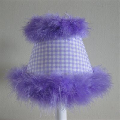 Silly Bear Lighting Lovely Lady Table Lamp, Lavender