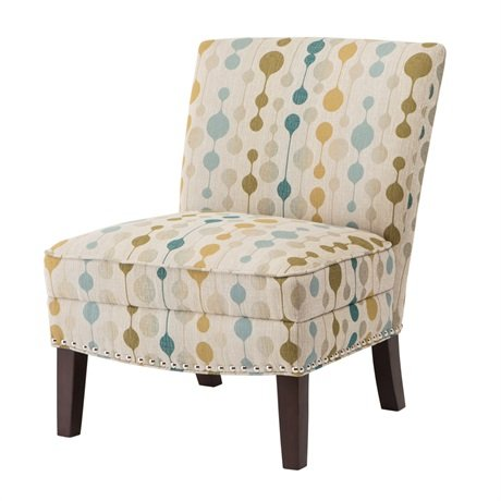 slipper accent chair haydennatural - High Back Living Room Chairs