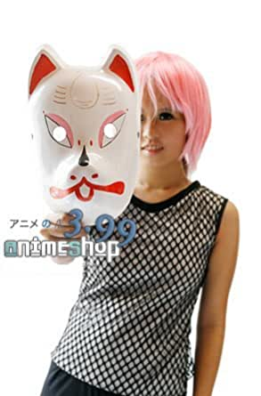 Amazon Com Naruto Inspired Anbu Mask Japanese Wolf