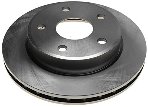 ACDelco 18A1801A Advantage Non-Coated Front Disc Brake Rotor