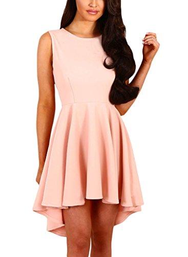 Sidefeel Elegant Sleeveless Skater Dresses
