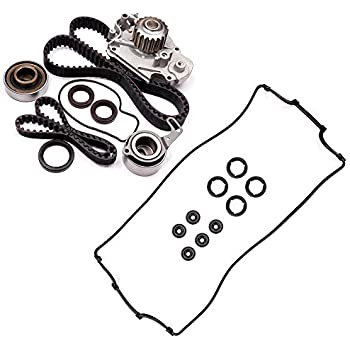 Amazon Com Ocpty Timing Belt Tensioner Bearing Water Pump With