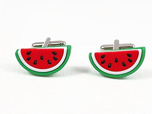 Watermelon Cufflinks by Loud Cufflinks