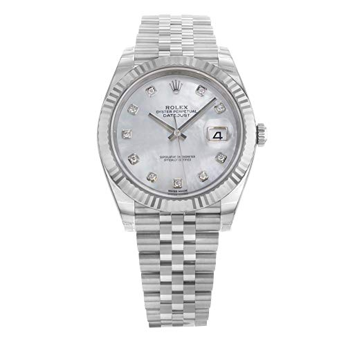 Rolex Datejust II Automatic-self-Wind Male Watch 126334 (Certified Pre-Owned)