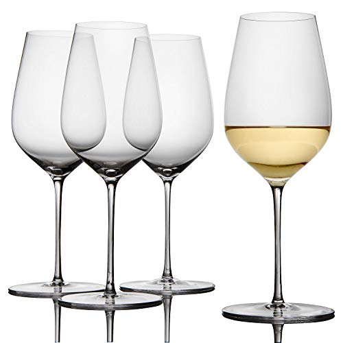 Fusion Air Universal Wine Glasses -Set of 4 (Sale Glasses For Bulk Wine)