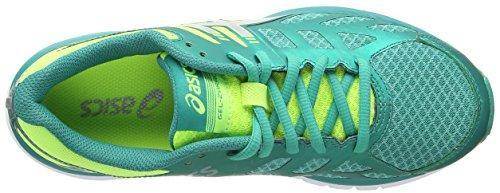 ASICS Gel-Zaraca 3, Chaussures Multisport Outdoor Femmes Vert (Black/Grey 9011)
