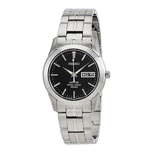 Day Date Watch Quartz (Seiko Quartz Stainless Steel Watch With Day Date - SGG715P1)