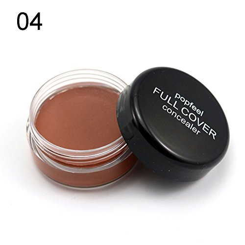 Concealer Cream, Ragdoll50 Moisturizing Waterproof Foundation Covering Freckles and Black Rim of the Eyes, 20g - Rim Cream