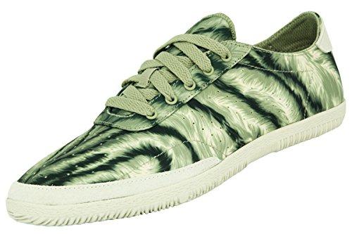 Adidas JS PLIMSOLE TIGERCAMO Khaki Unisex Sneakers Schuhe Jeremy Scott Neu