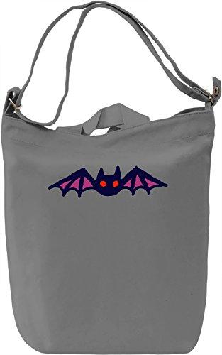 Bat Borsa Giornaliera Canvas Canvas Day Bag| 100% Premium Cotton Canvas| DTG Printing|