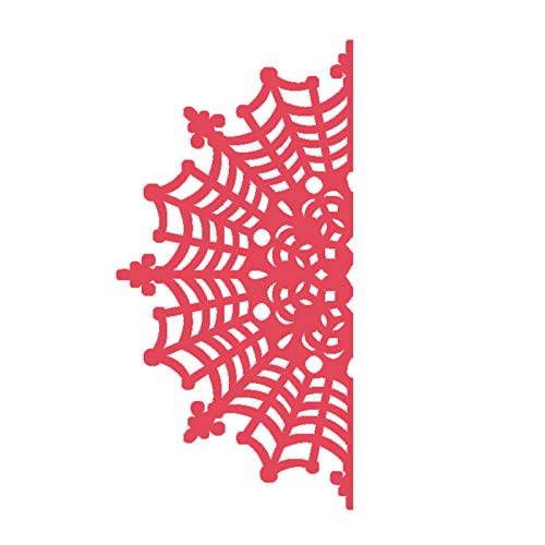 puhoon Carbon Steel Cutting Dies, Spider Web Cutting Dies Stencil Scrapbooking Embossing Paper Card Home Decor, Tool Gift for Kids, Home Decor, Party Wedding Decoration, 3# ()