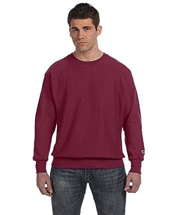 Champion 12 oz 82/18 Reverse Weave Crew Sweatshirt S1049/S149 Cardinal Small
