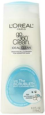 L'Oreal Paris Go 360 Clean Deep Facial Cleanser, 6-Fluid Ounce