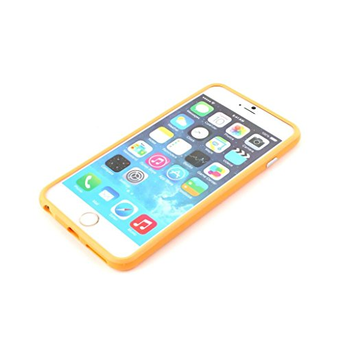 Stunning Style Iphone 6 Silicon Bumper Orange by G4GADGET®