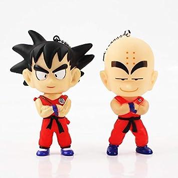Figuras de acción y juguete - 9 cm 2 piezas/lote Dragon Ball ...