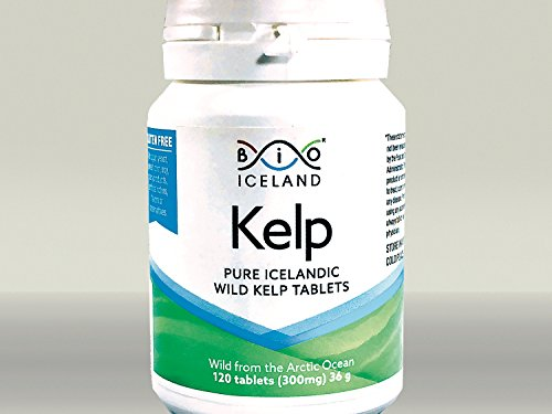 - Wild Arctic Icelandic Whole Food Iodine from Organic Kelp. Thyroid Support Supplement. Supports a Healthy Metabolism, Energy and Immune Boost - 120 Vegan Tablets 300 MG