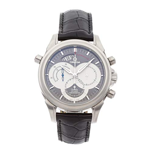 Omega De Ville Mechanical (Automatic) Grey/Charcoal Dial Mens Watch 4848.40.31 (Certified Pre-Owned)