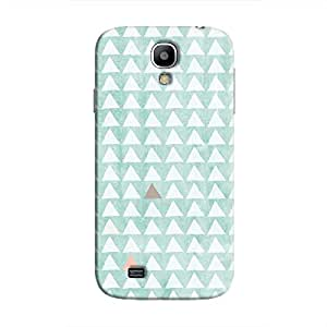 Cover It Up - Odd Hills Blue Galaxy S4 Hard Case