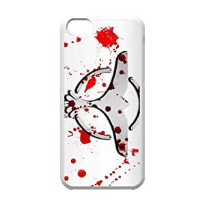 High Quality Specially Designed Skin cover Case tiesto blood iPhone 5c Cell Phone Case White