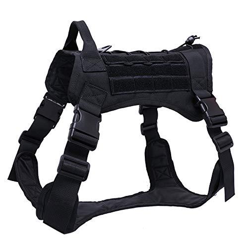Wildlead Tactical Training Dog Harness Vest Militar Ajustable ...