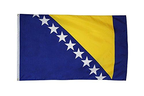 Bosnia and Herzegovina Flag 3ftx5ft Polyester ()