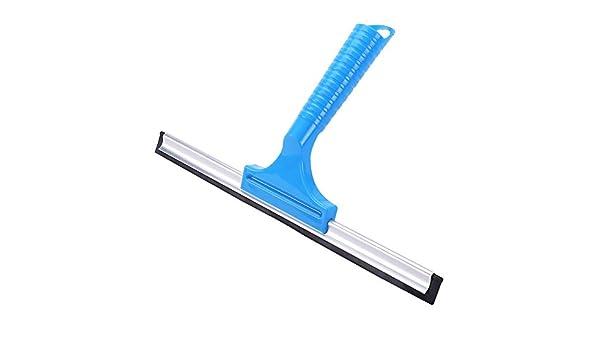 SQUEEQEES Práctico para mamparas de ducha o como limpia ventanas limpiacristales con ventosa Mango extra largo: Amazon.es: Hogar