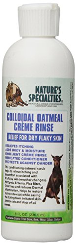 Oatmeal Crème Rinse Dog Conditioner, 8-Ounce ()