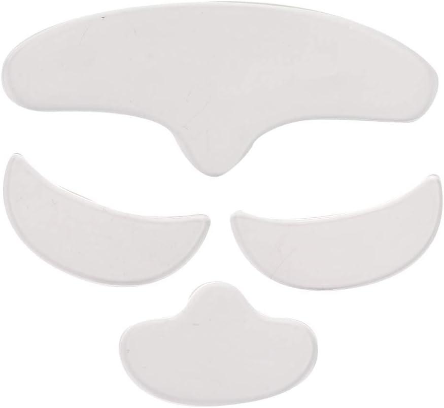 Almohadilla de silicona antiarrugas ligera y agradable para la piel, parche facial, para levantar la belleza de la cara