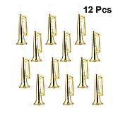 TOYANDONA 12pcs Plastic Trumpet Noise Maker Horn