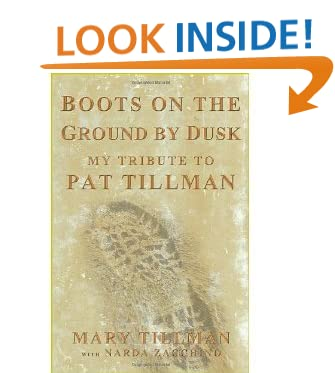 Boots on the Ground by Dusk - My tribute to Pat Tillman (Signed)