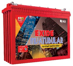 Exide Technologies exide EIT500B150AH 150Ah Battery (Red) 2021 June Power rating: 150Ah Colour: Red Long lasting battery