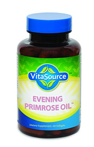 Evening Primrose Oil: (1300 mg, 60 Servings) Remarkable Herbal Health Supplement for Women PMS Relief, 60 Softgels, GMP Certified, Made in USA