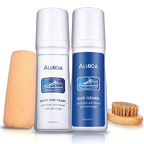 Shoe Cleaner+White Shoe Polish, Shoe Cleaning Kit for multiple use Cleaner, ()