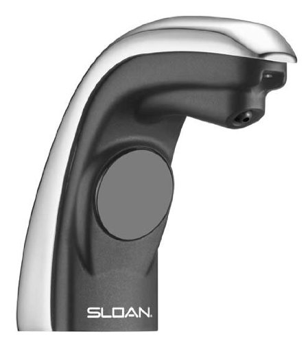 SLOAN 7000004 Soap Dispenser, Polished Chrome by Sloan