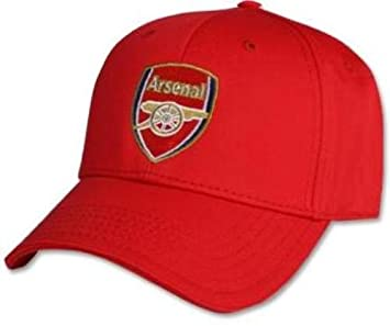 91f06c820eb Arsenal FC Crest Baseball Cap - Red  Amazon.co.uk  Sports   Outdoors