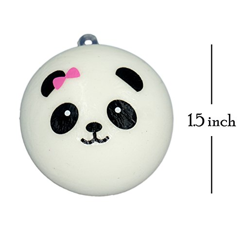 Popculta Mini Panda Squishy Charm Toy Extra Soft (Pack of 4) Toy in the UAE. See prices ...