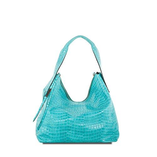 Cromia , Pochette pour femme turquoise Türkis